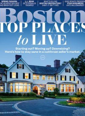 Boston Magazine Cover Image