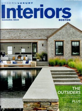 Modern Luxury Interiors Boston Cover Image